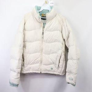 Mountain Hardwear Down Filled Puffer Jacket White
